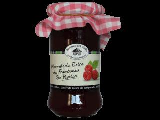 Mermelada Extra de Frambuesa Sin Pepitas 100% Natural