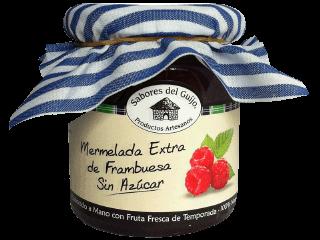 Mermelada Extra Sin Azúcar de Frambuesa 100% Natural