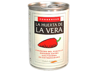 Pimientos Piquillo Enteros Cat.Extra (Lata 425ml)