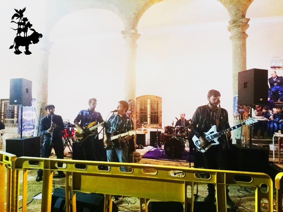 Los Trotamusicos en el I Festival de Cerveza Artesana Torrijos Beer Festival & Monkey