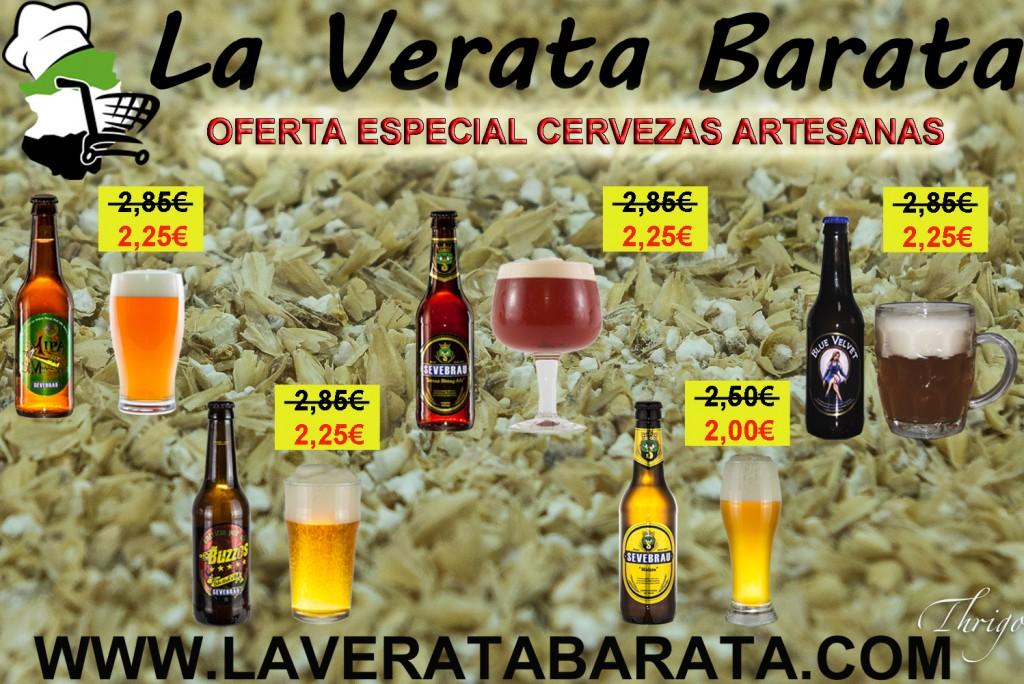 Oferta Especial Cervezas Artesanas Extremeñas